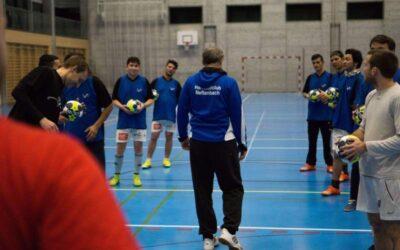 Handball Schnuppertraining für Asylbewerber